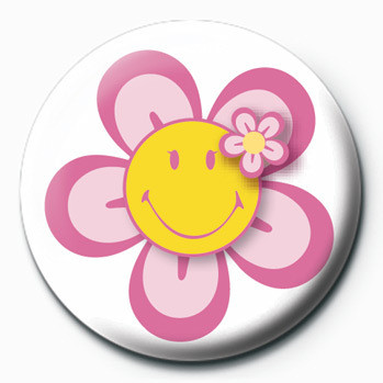 Placka Smiley (Flower)