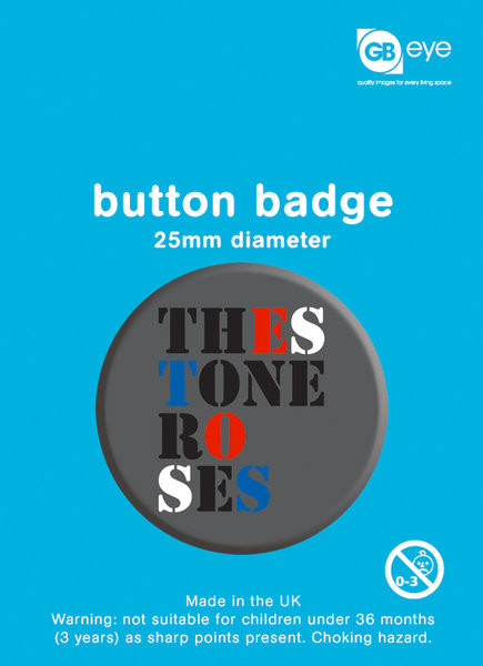 Placka THE STONE ROSES - logo