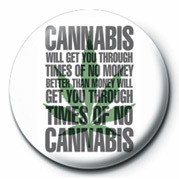 Odznak TIMES OF NO CANNABIS