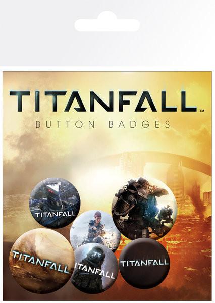 Odznak TITANFALL - mix