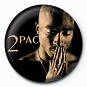 Odznak Tupac - Pray