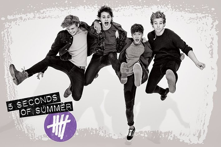 Plagát 5 Seconds of Summer - Jump