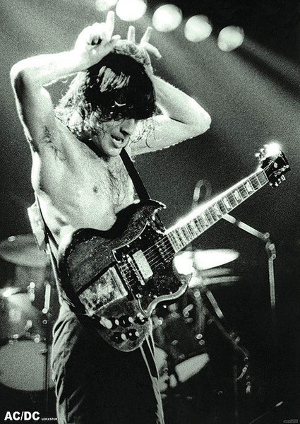 Plagát  AC/DC - Angus Young Young