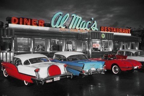 Plagát Al Mac's diner