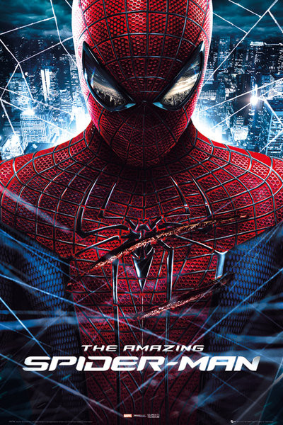 Plagát AMAZING SPIDER-MAN - teaser eyes