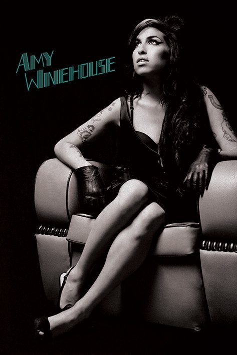 Plagát Amy Winehouse - Chair