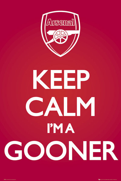 Plagát Arsenal FC - Keep Calm