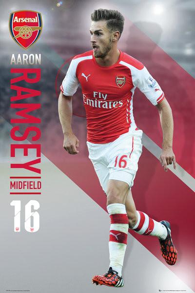 Plagát Arsenal FC - Ramsey 14/15