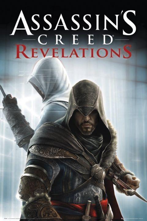 Plagát Assassin's creed Relevations - knives