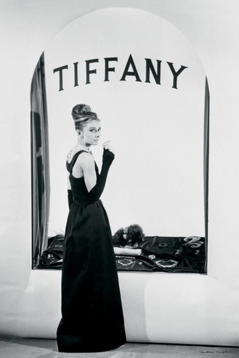 Plagát Audrey Hepburn - tiffany