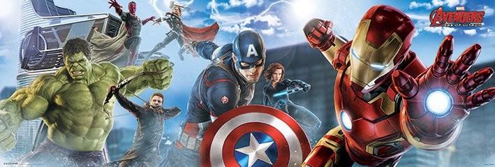 Plagát Avengers 2: Vek Ultrona - Skyline