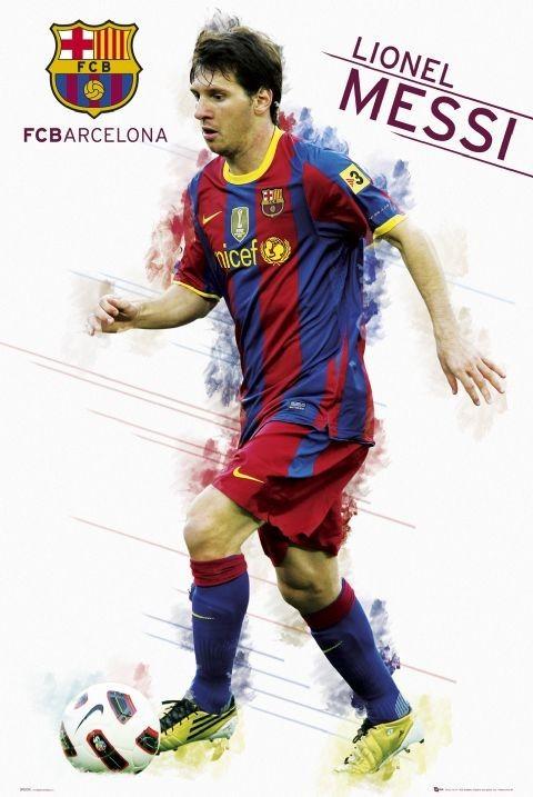 Plagát Barcelona - Messi 2010/2011