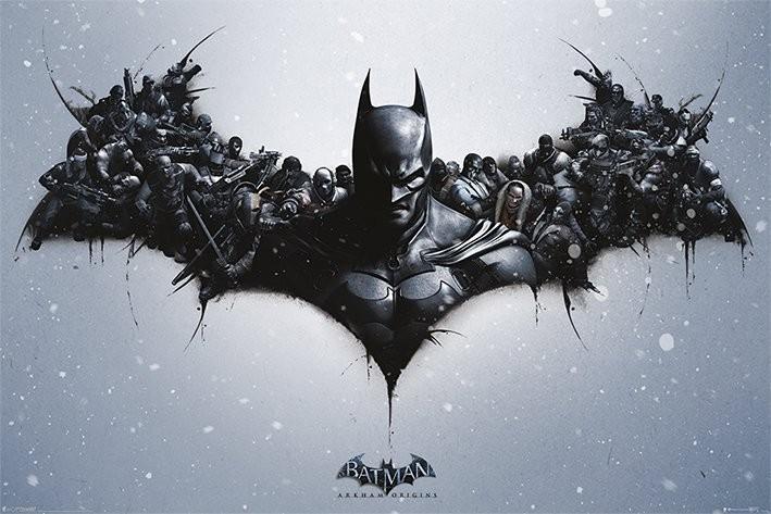 Plagát BATMAN ARKHAM ORIGINS - logo