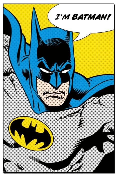 Plagát BATMAN - i'm batman