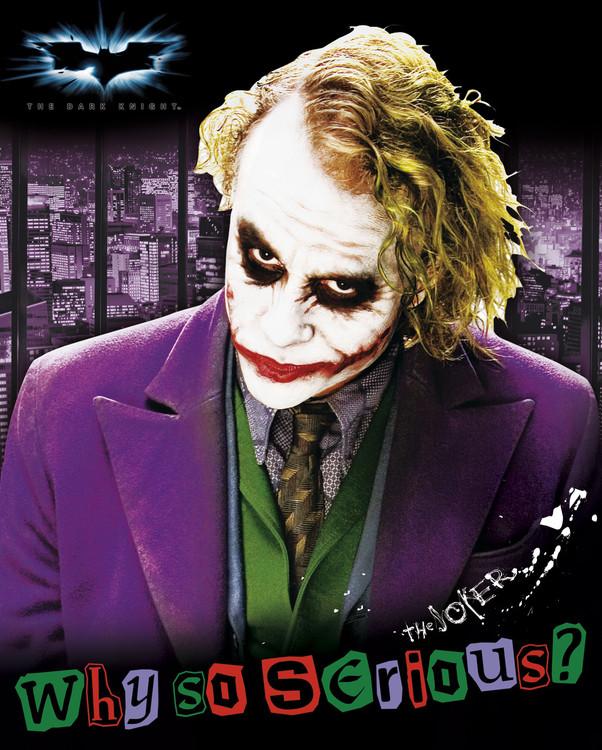 Plagát Batman: The Dark Knight - Joker