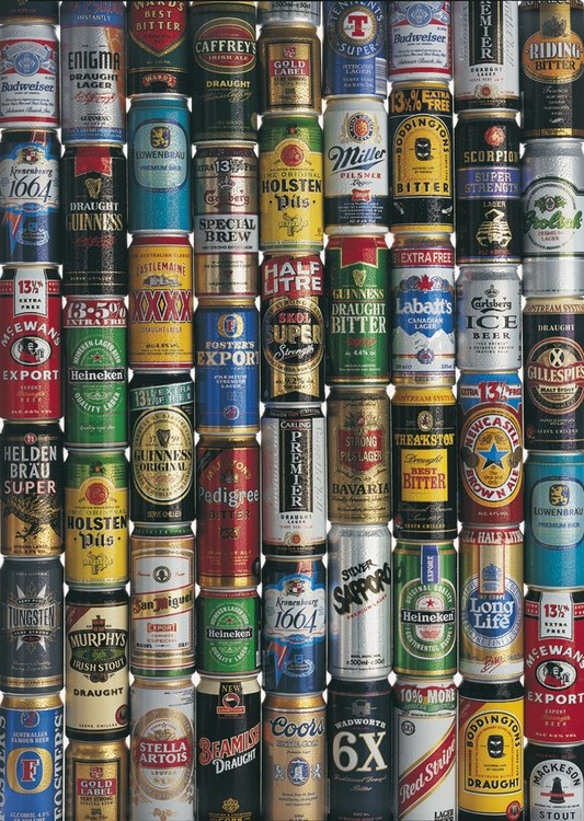 Plagát Beers of the world