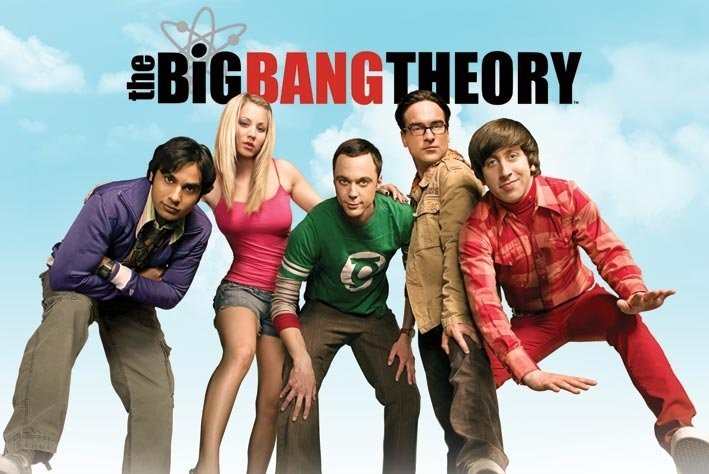 Plagát BIG BANG THEORY - sky