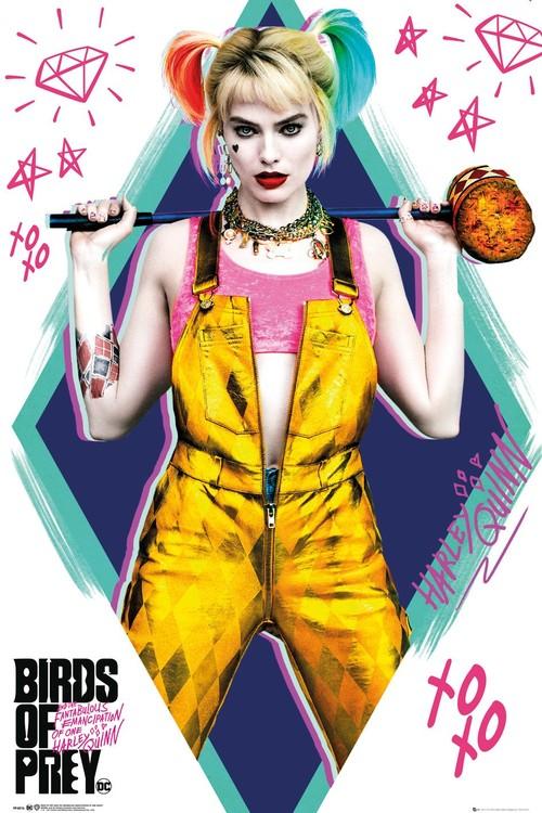 Plagát Birds of Prey: Podivuhodná premena Harley Quinn - Harley Quinn