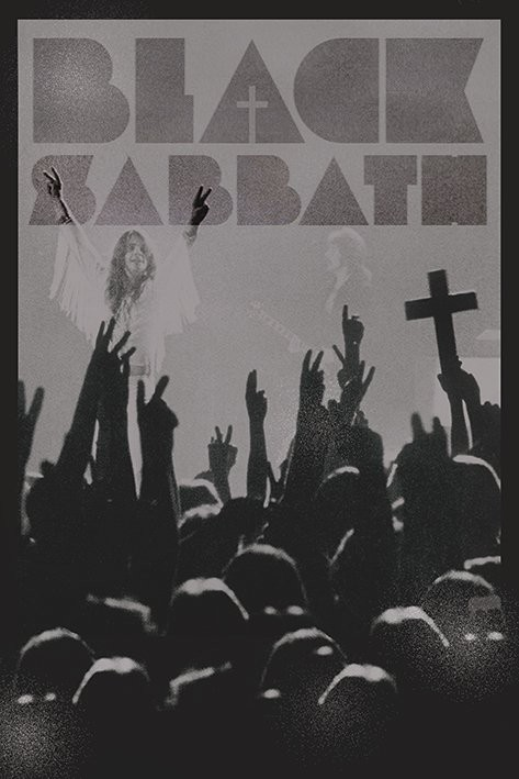 Plagát Black Sabath - cross