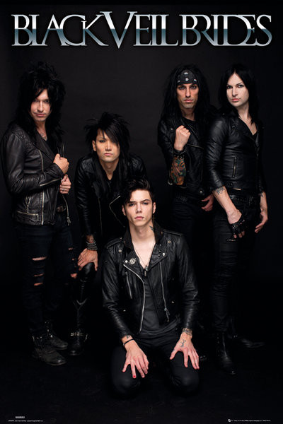 Plagát Black veil brides - band