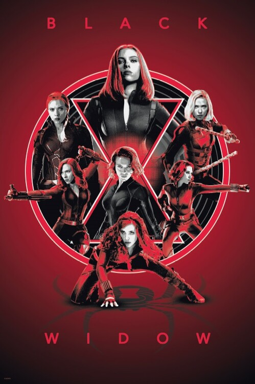 Plagát Black Widow - Legacy
