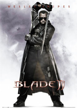 Plagát BLADE II - one sheet