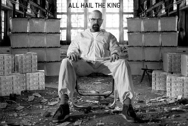 Plagát Breaking bad - Perníkový tatko - All Hail The King