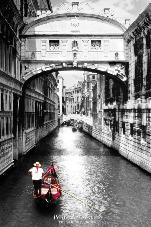 Plagát Bridge of sighs - venezia,italy