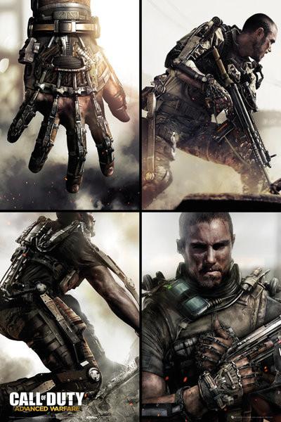 Plagát Call Of Duty Advanced Warfare - Grid