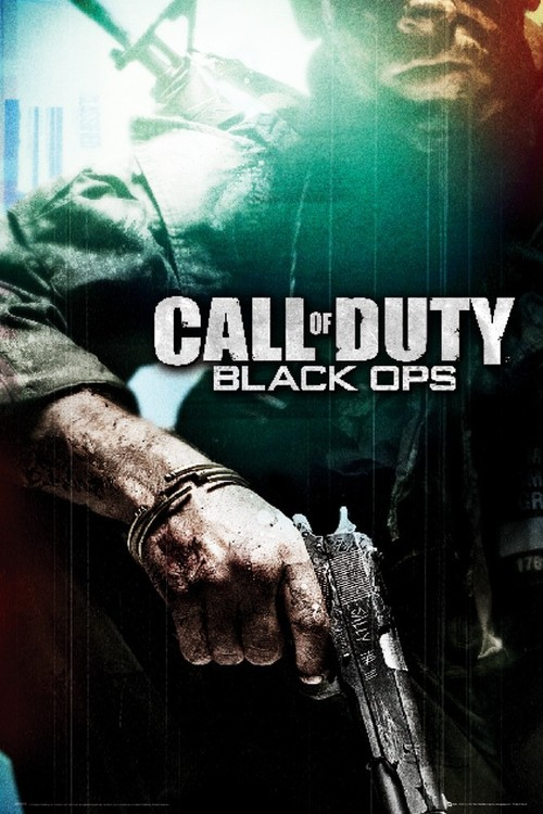 Plagát Call of Duty - black ops