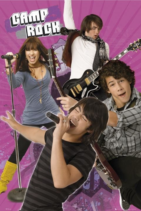 Plagát CAMP ROCK - band