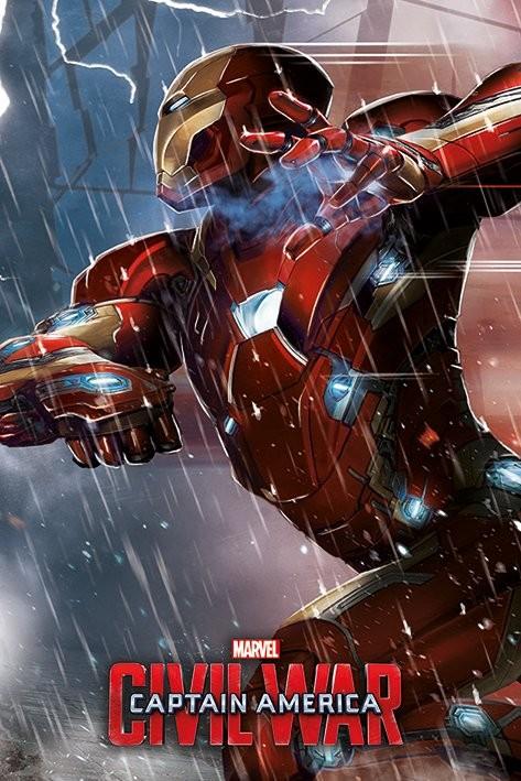 Plagát Captain America: Civil War - Iron Man