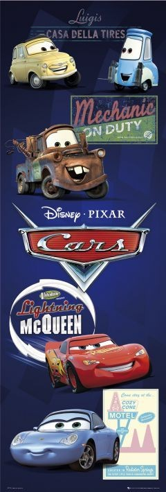 Plagát CARS - characters