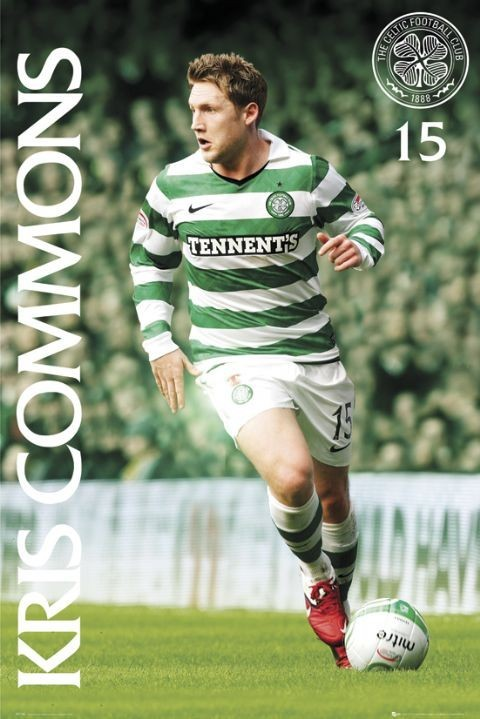 Plagát Celtic - kris commons 2010/2011