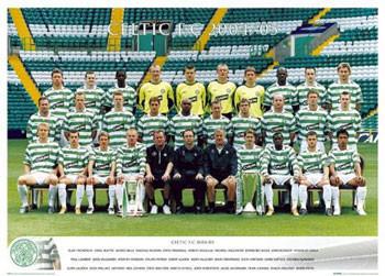Plagát Celtic - Team 04/05