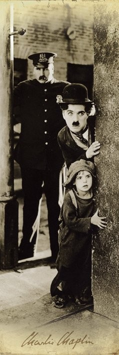 Plagát CHARLIE CHAPLIN - the kid