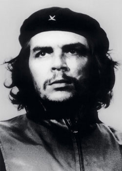 Plagát Che Guevara - bw. foto