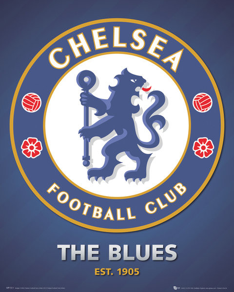 Plagát Chelsea FC - club crest