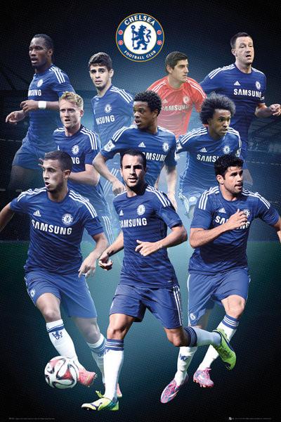 Plagát Chelsea FC - Collage 14/15