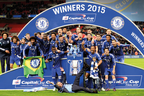Plagát Chelsea FC - Cup Winners Trophy