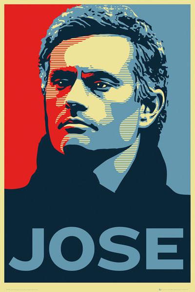 Plagát Chelsea FC - Jose Mourinho