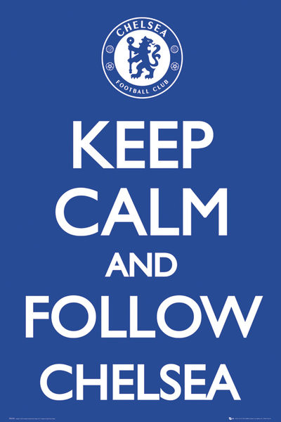 Plagát Chelsea - Keep calm