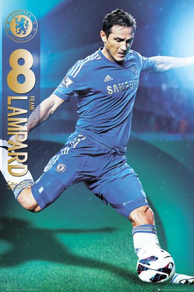 Plagát Chelsea - Lampard 12/13
