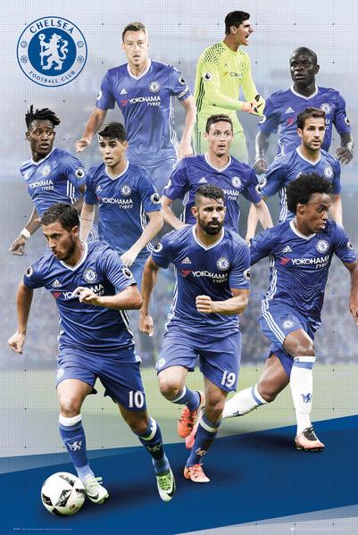 Plagát Chelsea - Players 16/17