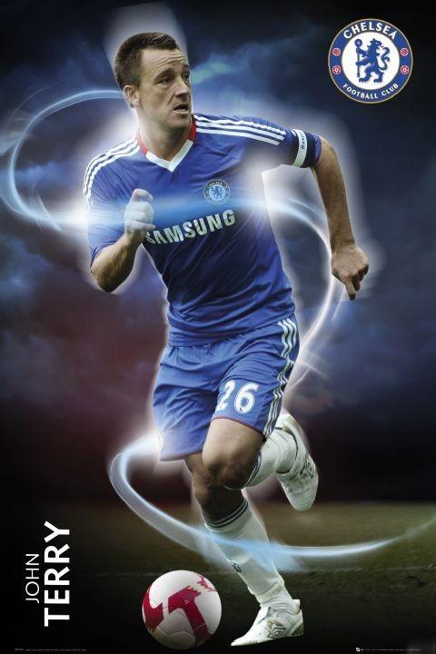 Plagát Chelsea - terry 2010/2011