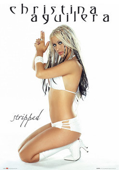 Plagát Christina Aguilera - gun