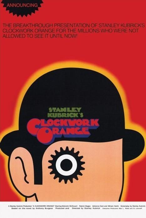 Plagát CLOCKWORK ORANGE - one sheet