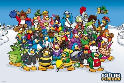 Plagát CLUB PENGUIN
