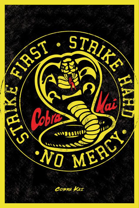 Plagát Cobra Kai - Emblem