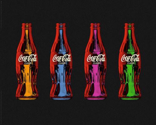 Plagát Coca Cola - popart